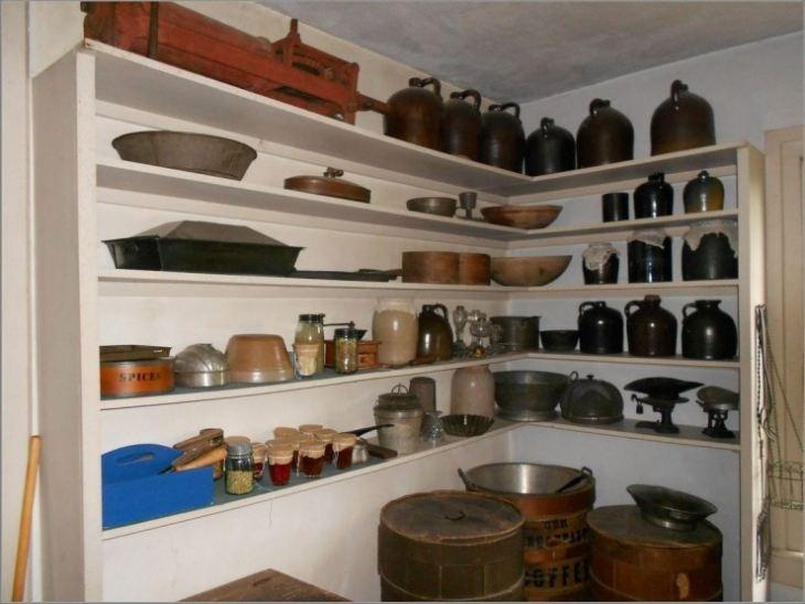 Угловая полка на кухню своими руками фото