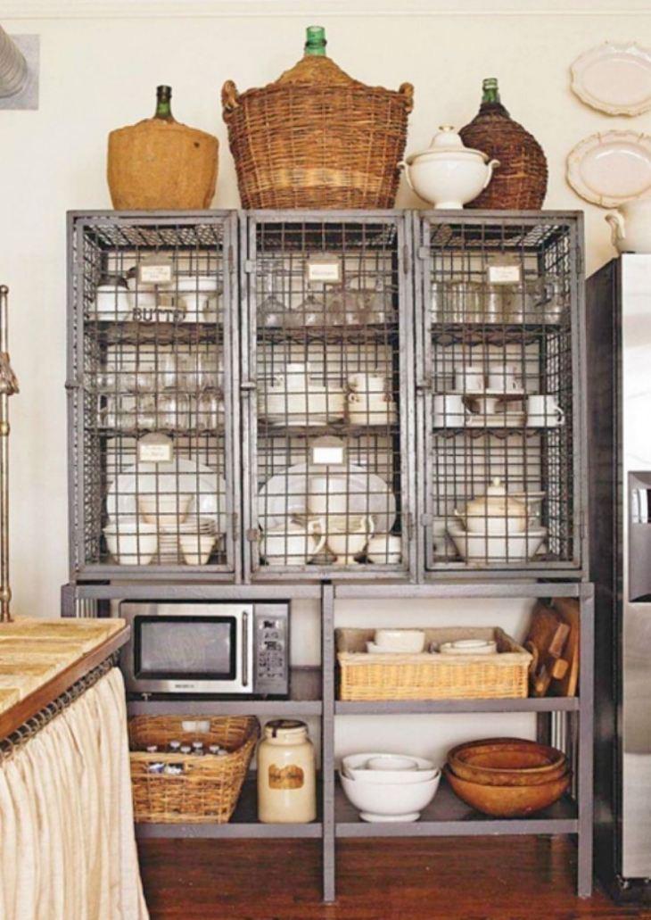 Антресоль на кухне фото