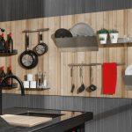 Хромированные полочки для кухни