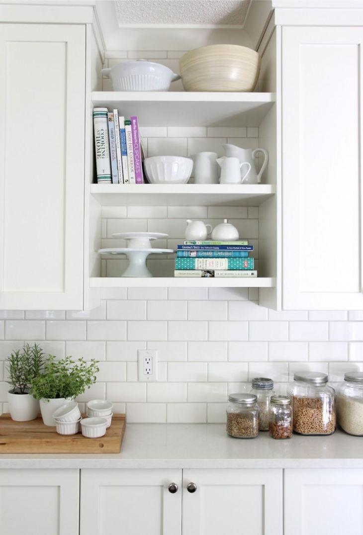 Полочки на стену своими руками для кухни