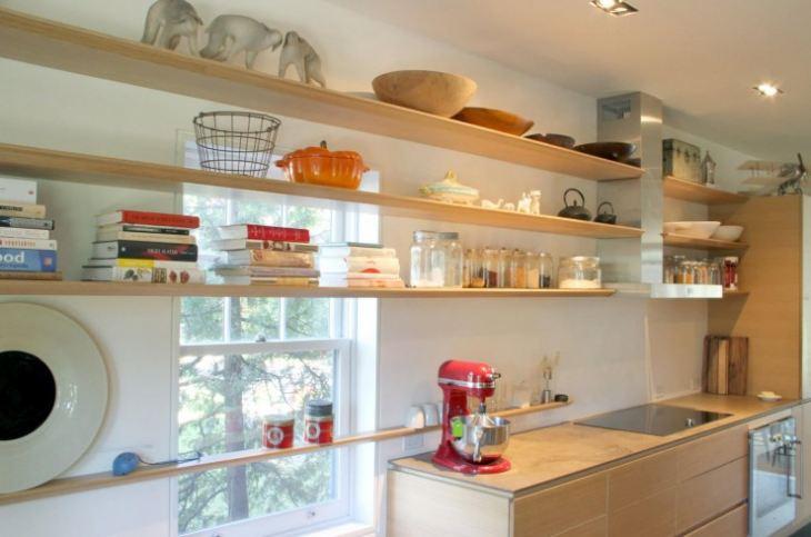 Кухонные полки своими руками фото