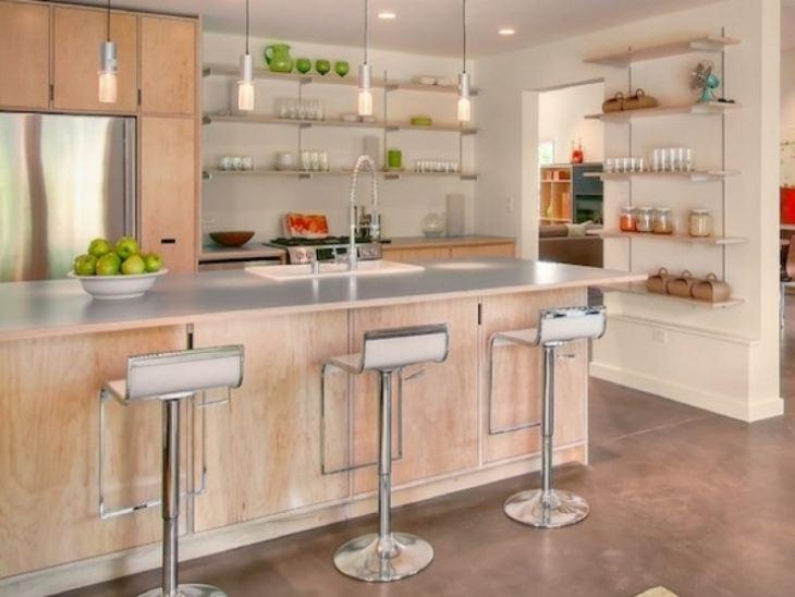Как сделать полки на кухню своими руками