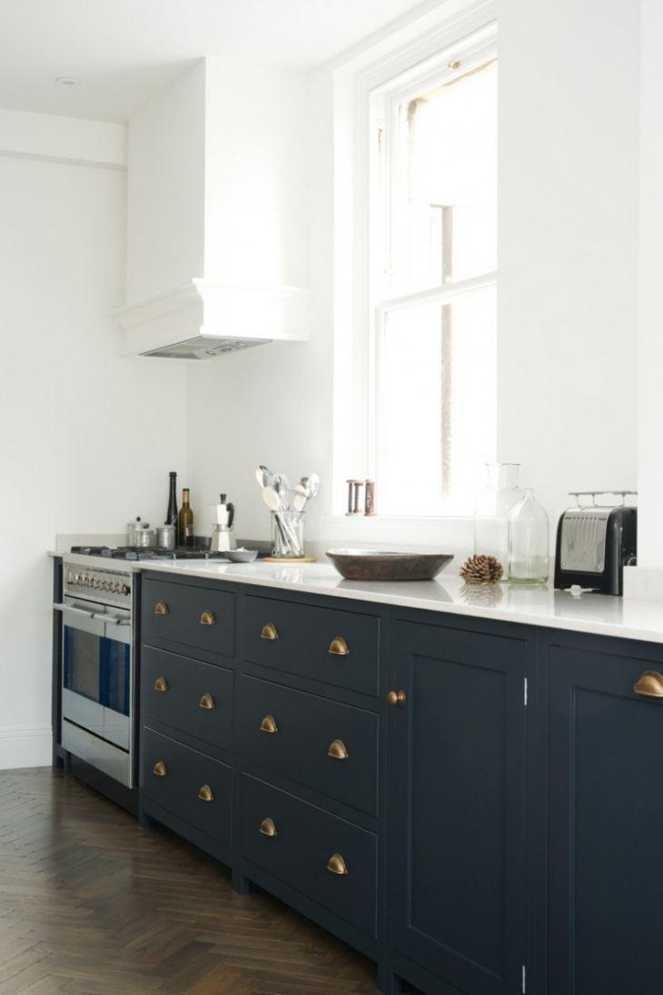 Синий цвет кухни сочетание цветов фото