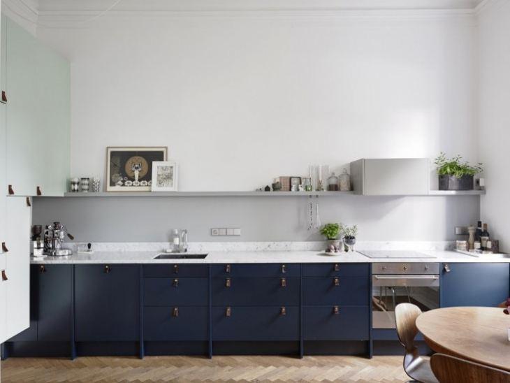 скандинавский стиль кухни фото
