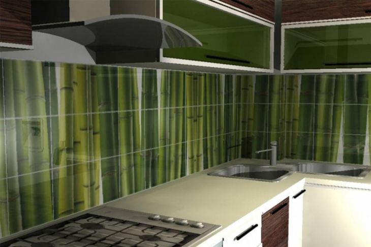 Чем украсить стену на кухне