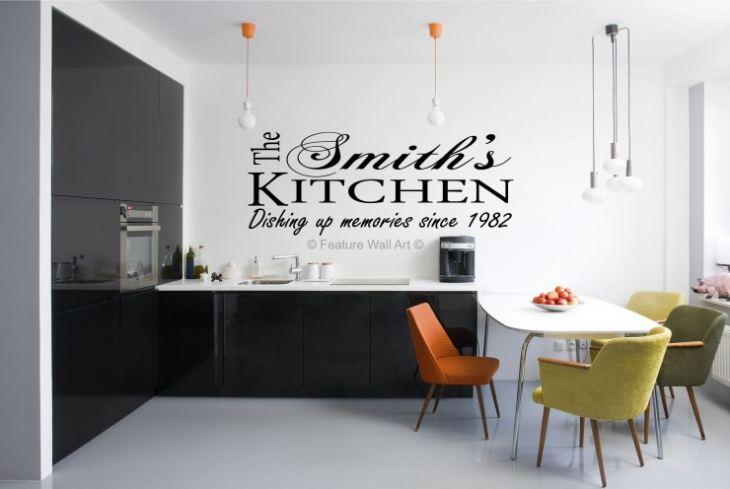 Стены на кухне варианты