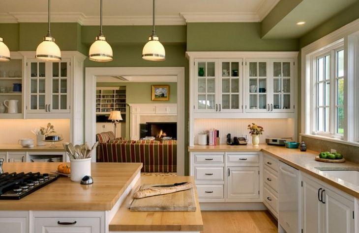 Декор стен на кухне в современном стиле