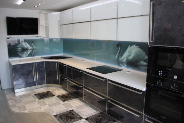 Как оформить стены на кухне