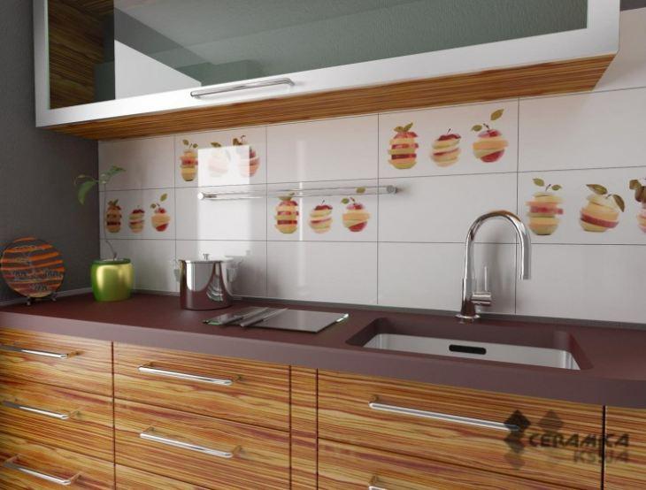 Как декорировать стену на кухне