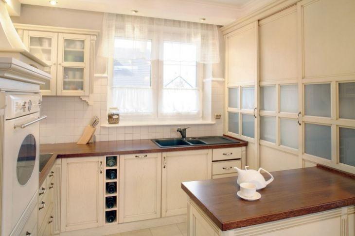 шторы для маленькой кухни