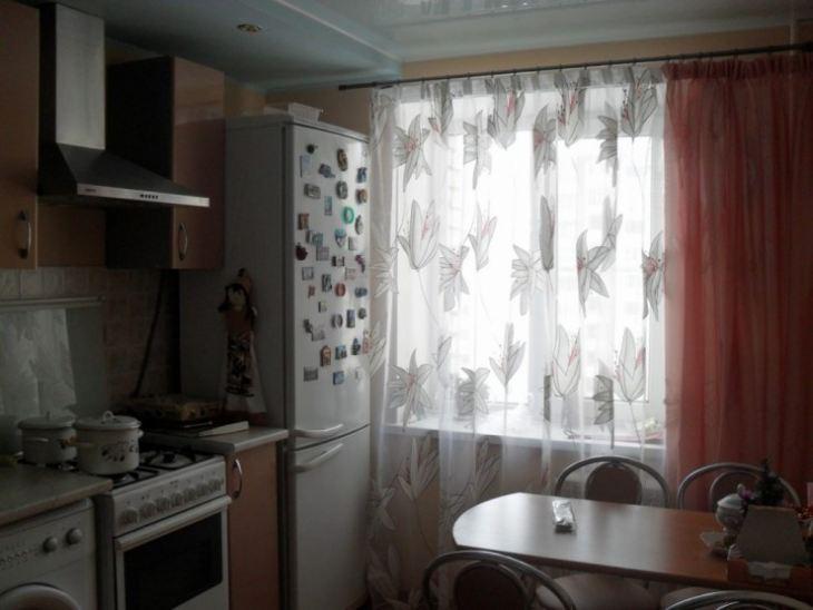 шторы на кухню в классическом стиле фото