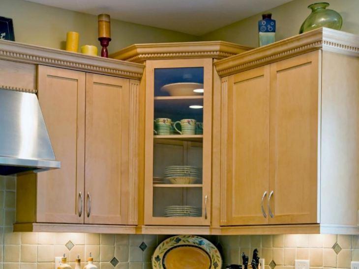 маленькие угловые кухни