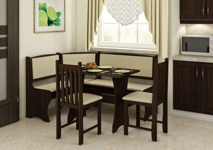 Кухни с угловым диваном фото