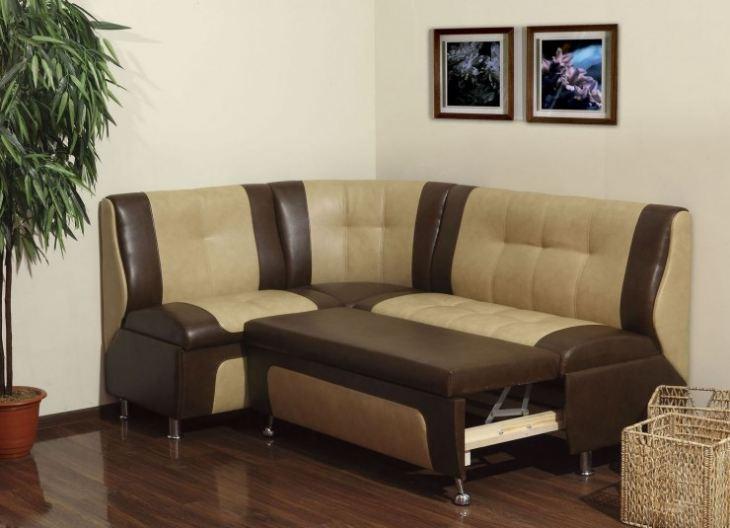 Угловой диванчик в кухню