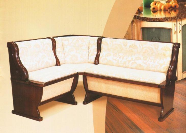 Угловые диванчики для кухни