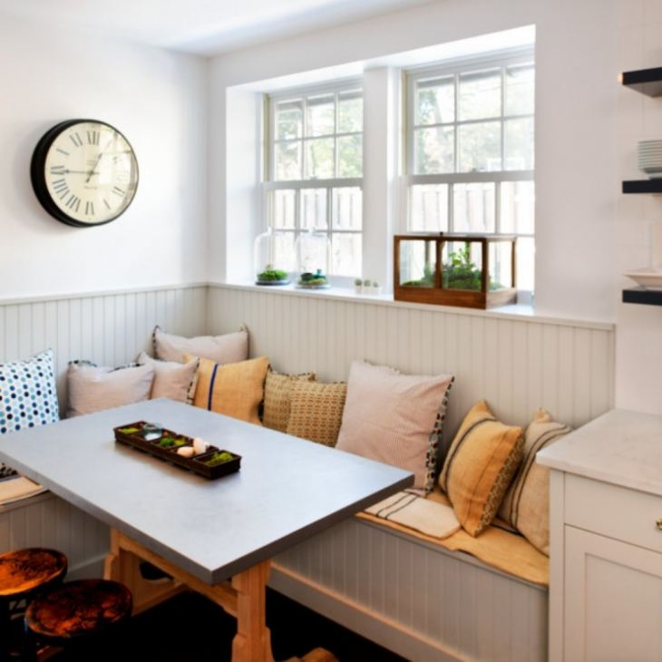 Кухонный диван размеры