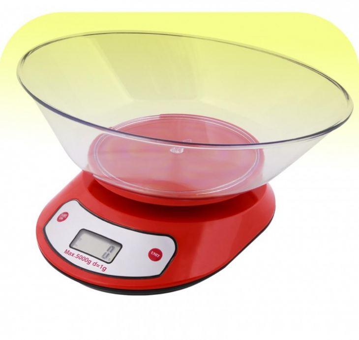 кухонные весы с чашей