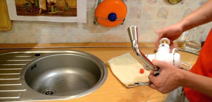 Водонагреватель на кухню
