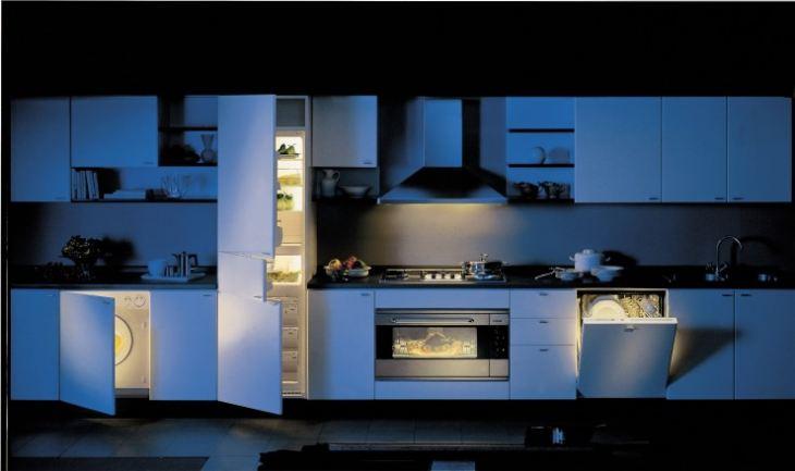 Встраиваемая кухня фото