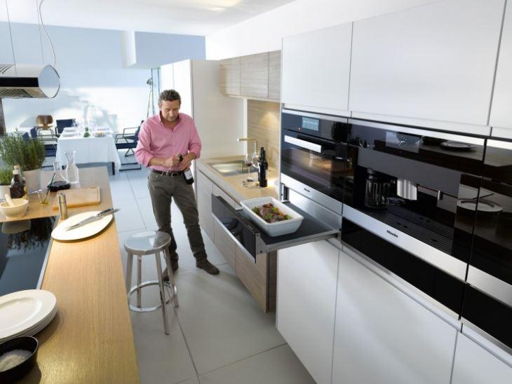 Кухни встроенные фото