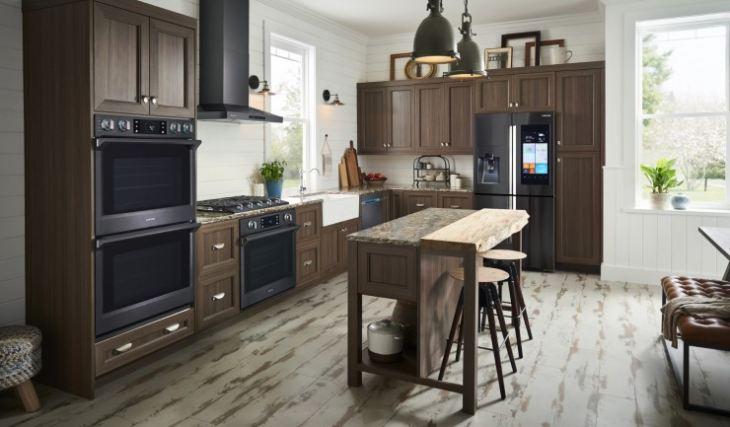 Кухня встроенная дизайн