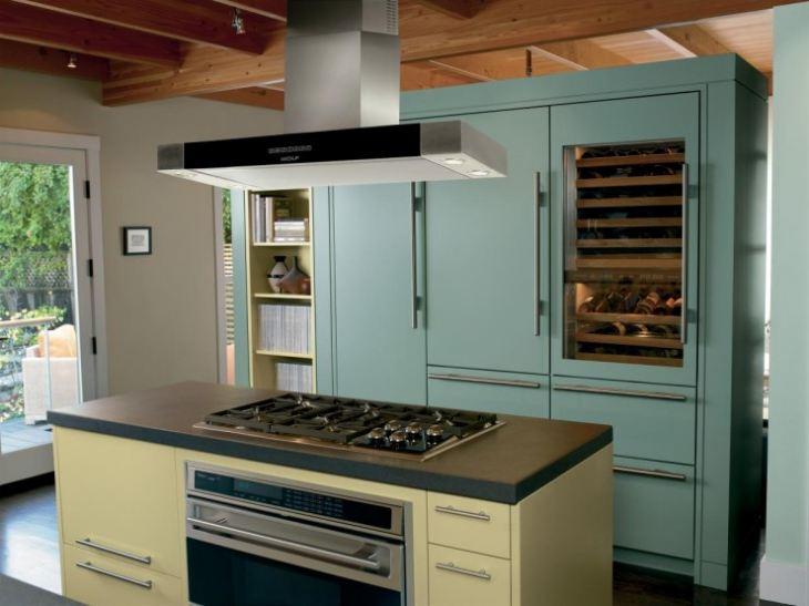 Кухни с встроенной техникой