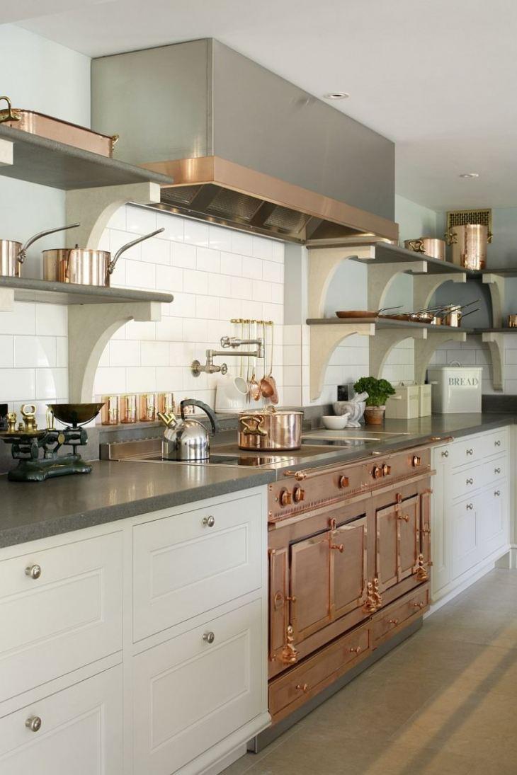 встроенный духовой шкаф на кухне фото