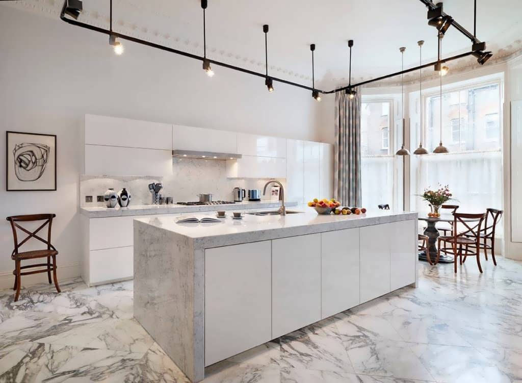 Кухня стиль минимализм