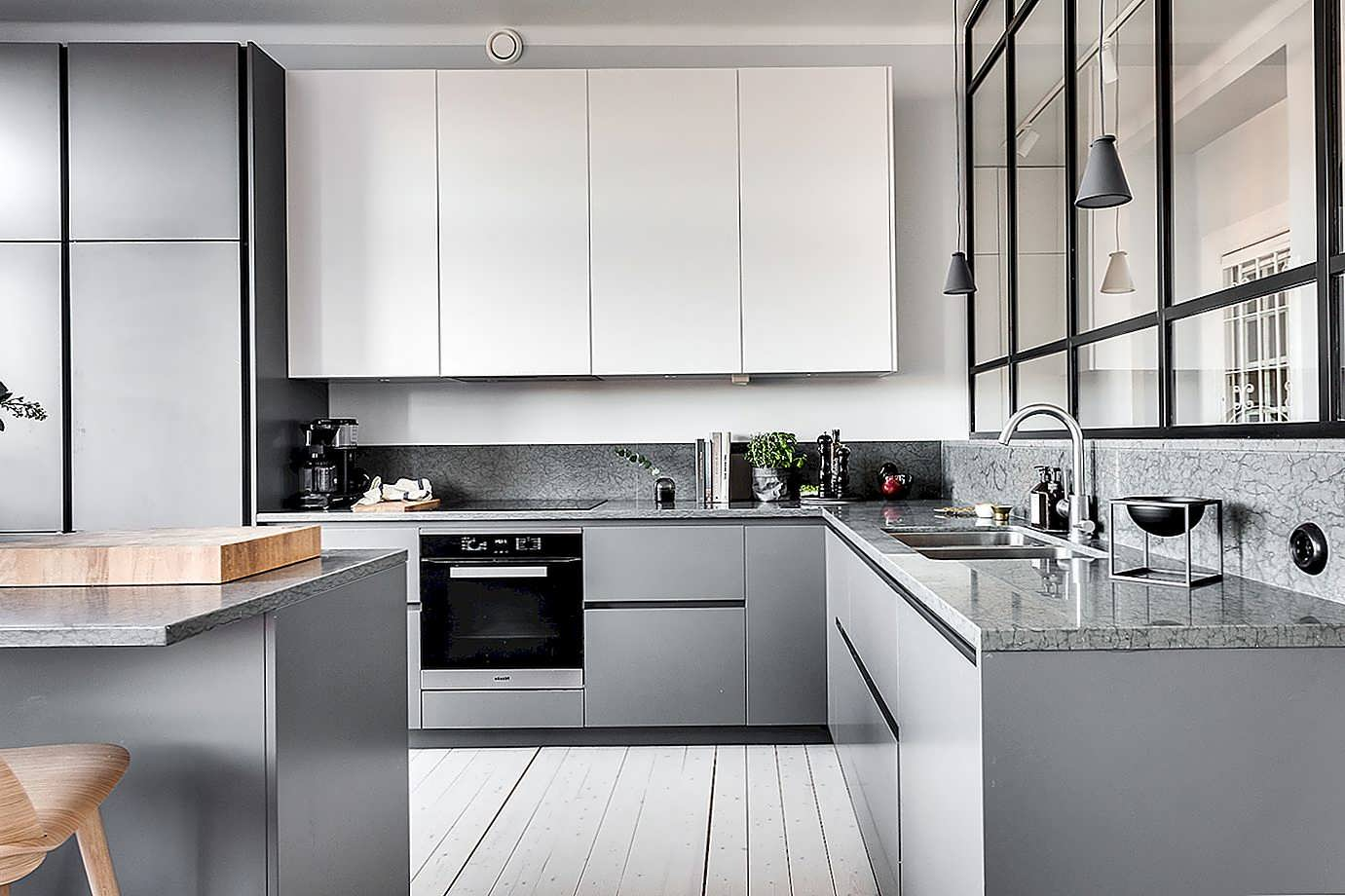 Кухня в стиле минимализм фото интерьер