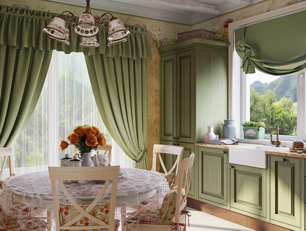 кухня прованс фото