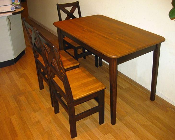 красивые столы из дерева