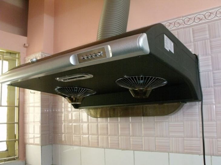 Труба для вытяжки на кухне