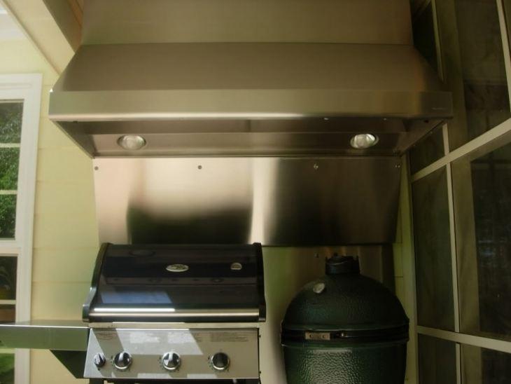 Вытяжка кухонная труба