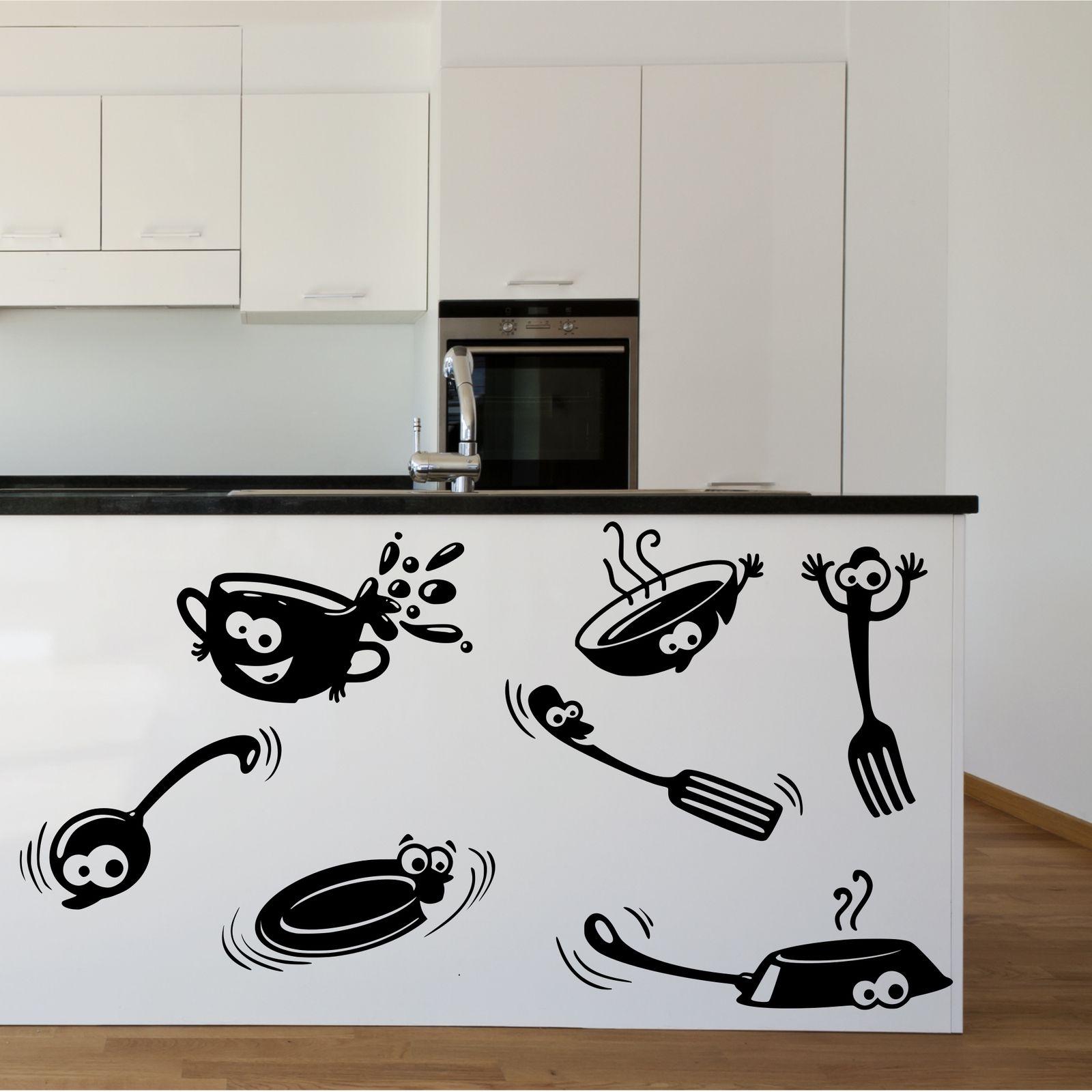 наклейки на кухню