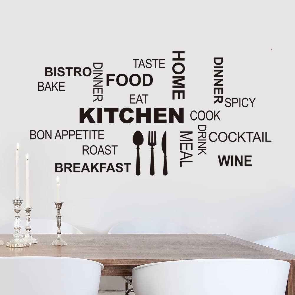 наклейки для кухни на стену