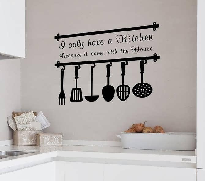 наклейки для кухни на фартук