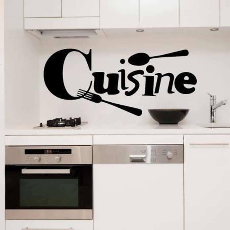 наклейка для кухни на стену
