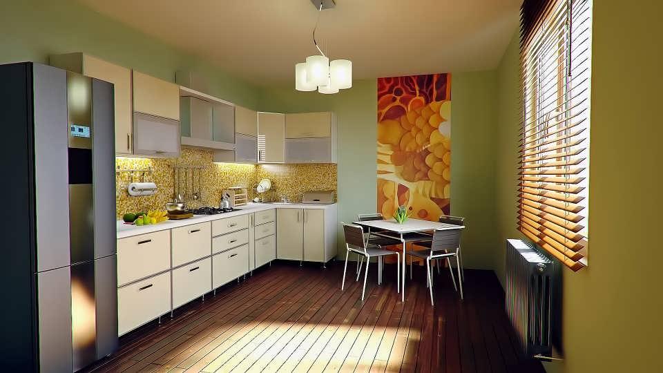Люстра на маленькую кухню