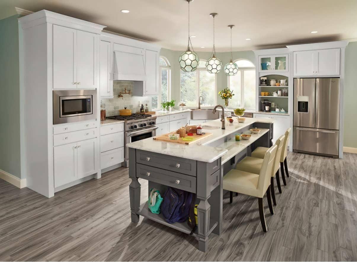 Ламинат на кухне отзывы фото