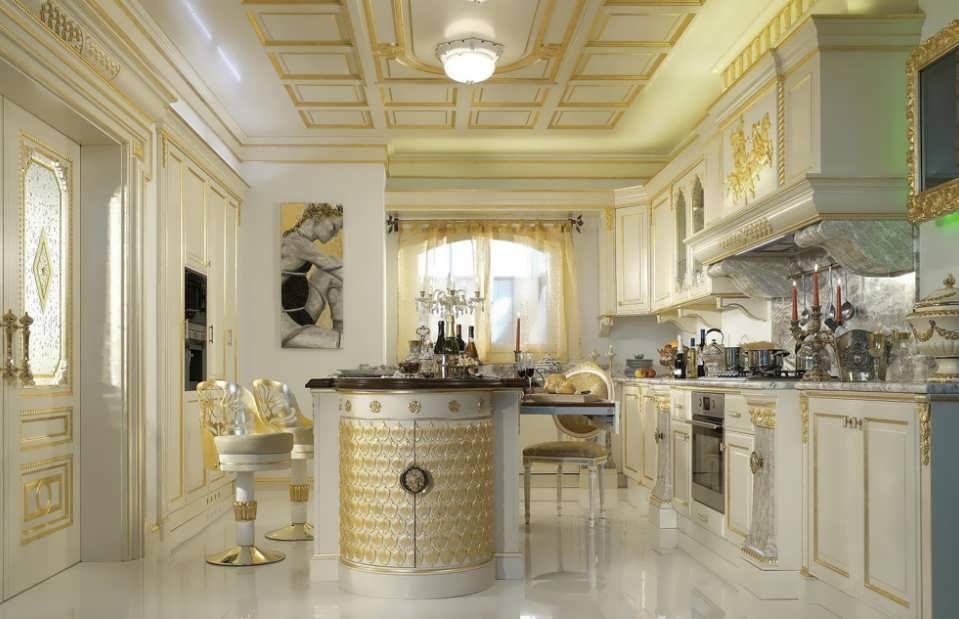 Чем отмыть глянцевую кухню
