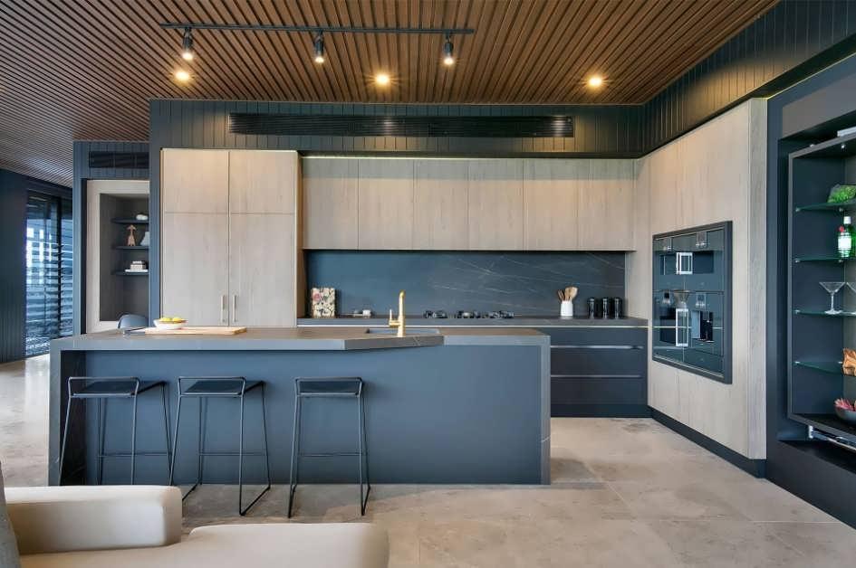 Фартук на кухню из ламината фото