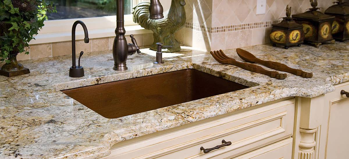 Раковина для кухни из искусственного камня