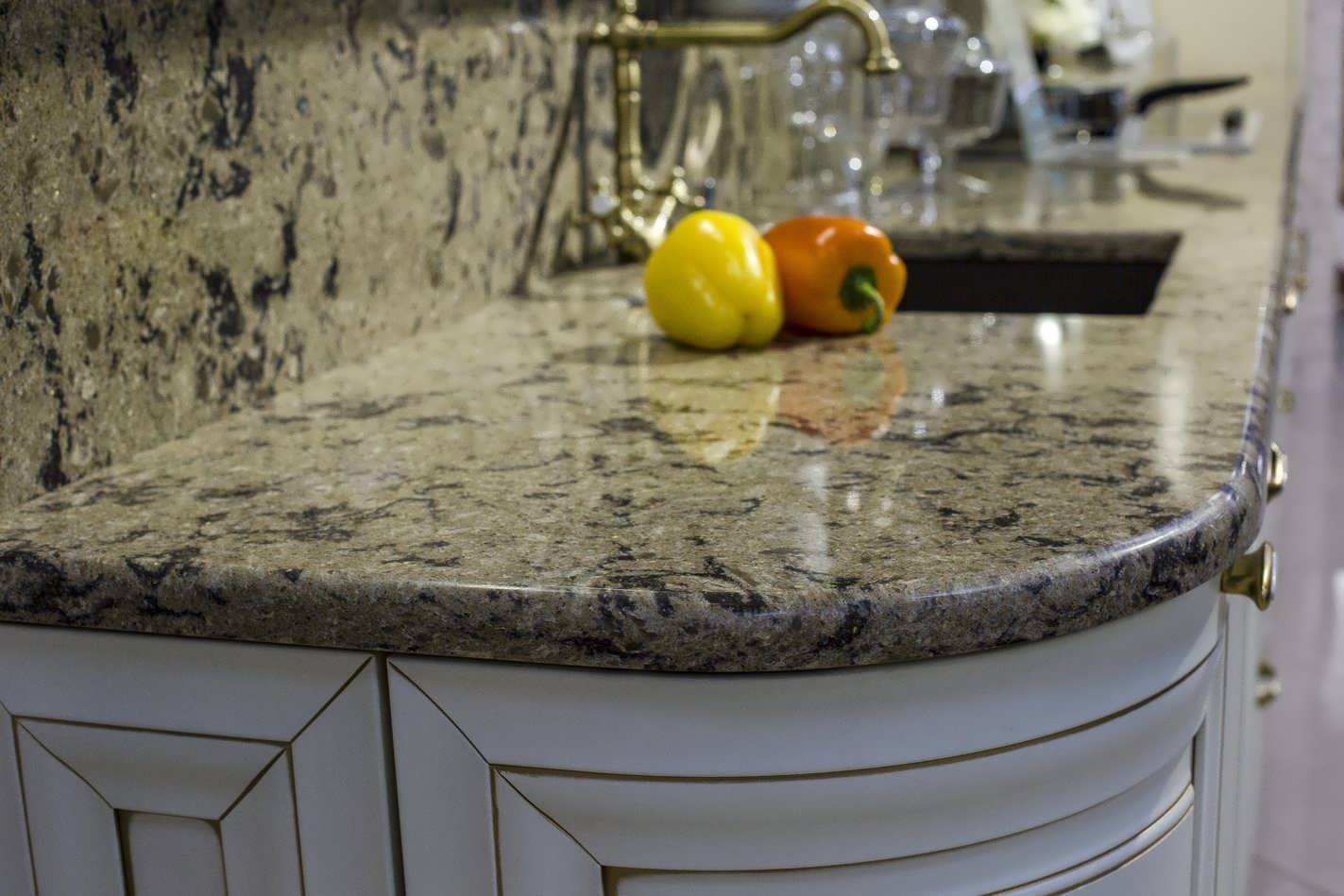 Каменные раковины для кухни