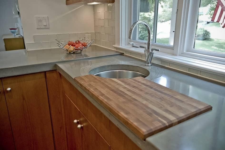 Высота столешницы на кухне от пола