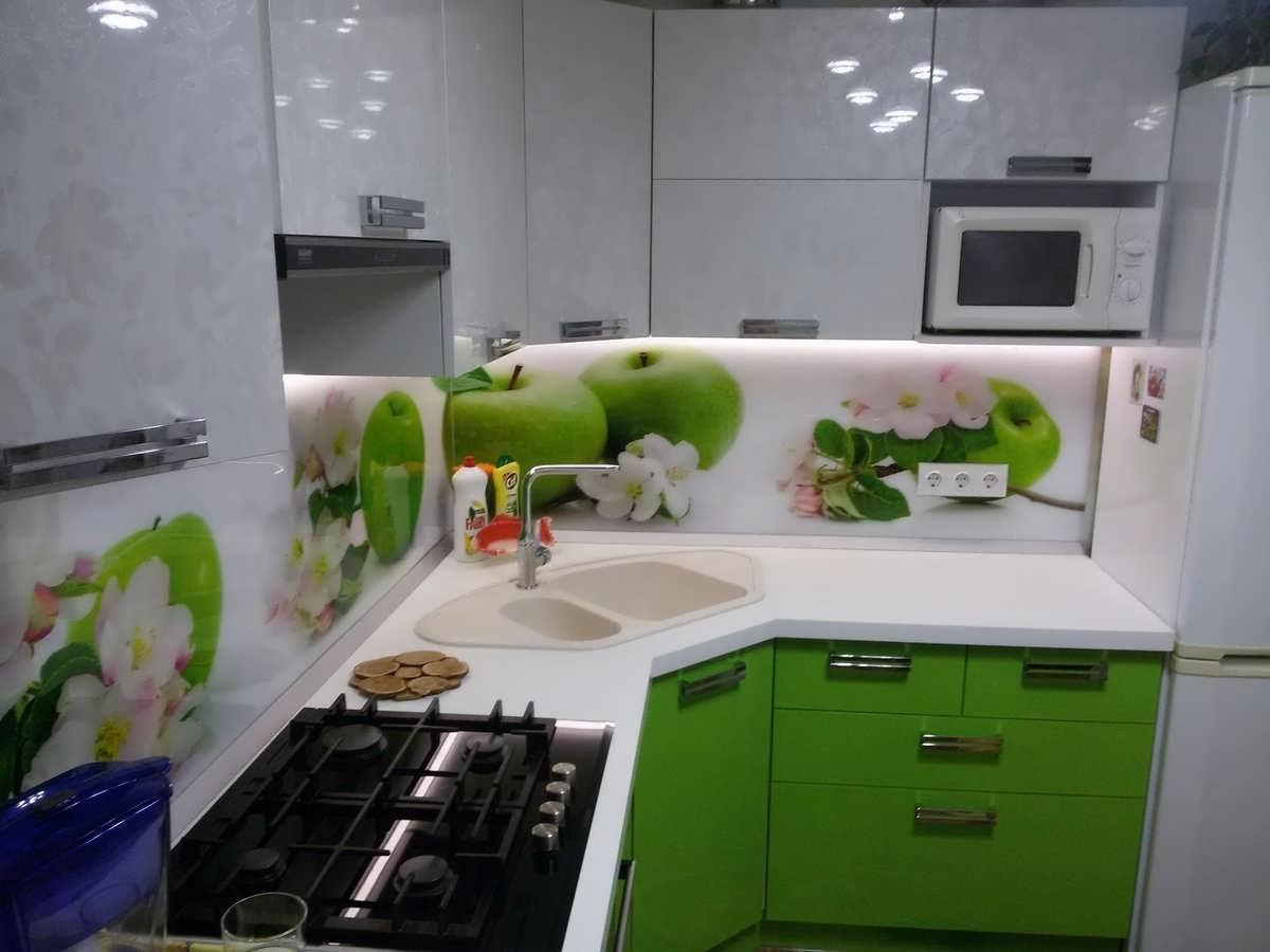 Интерьер маленькой кухни 5 кв м