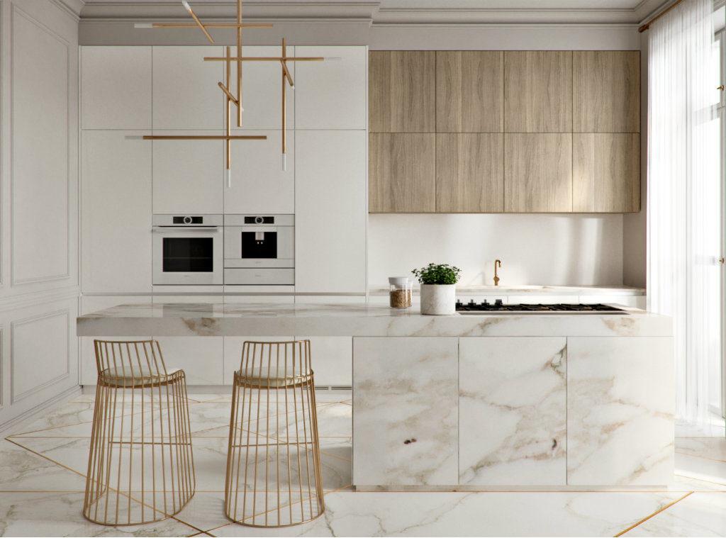 что такое модульная кухня и встроенная кухня