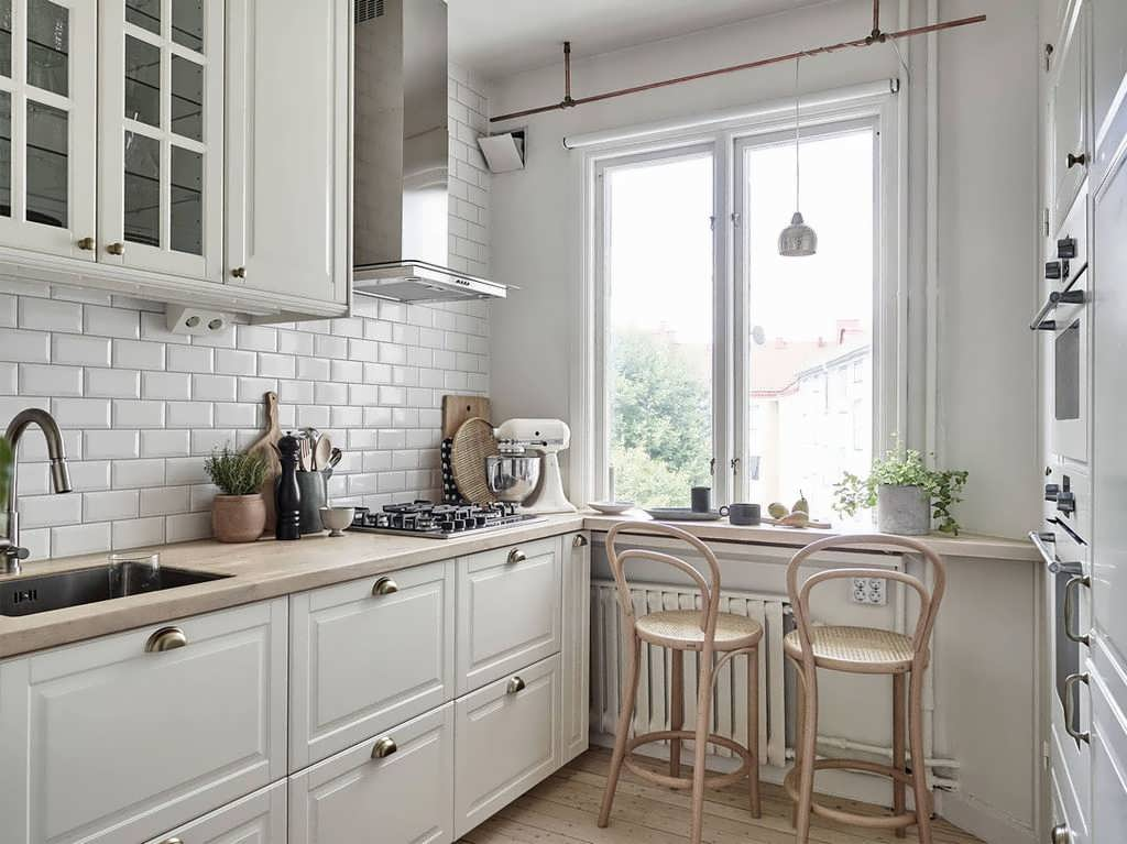 Кухня 5 кв м дизайн фото