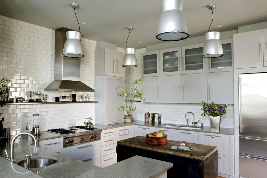 потолок на кухне варианты