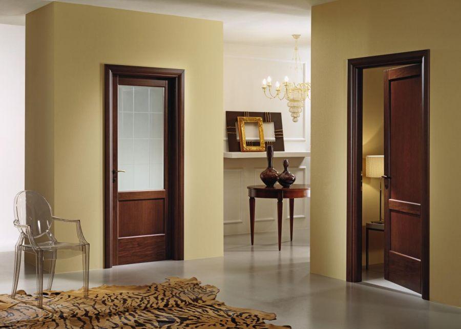 стеклянная дверь на кухню