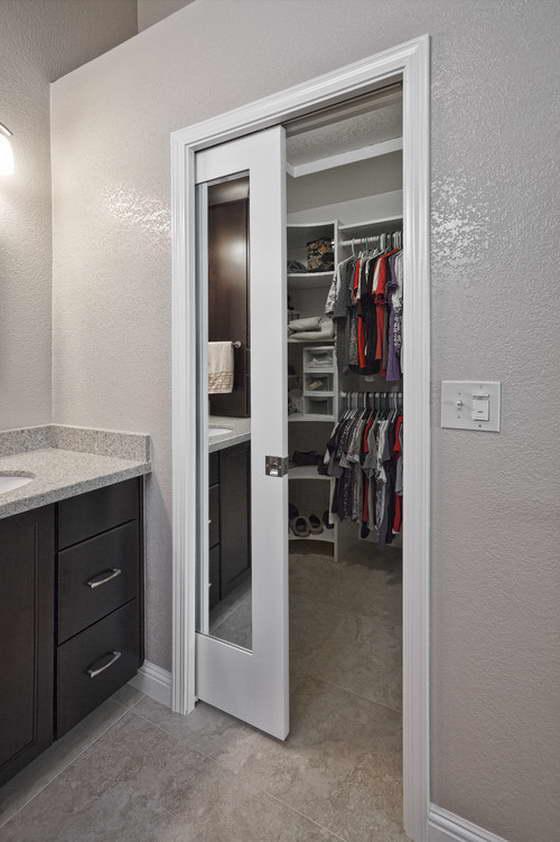 раздвижная стена между кухней и гостиной